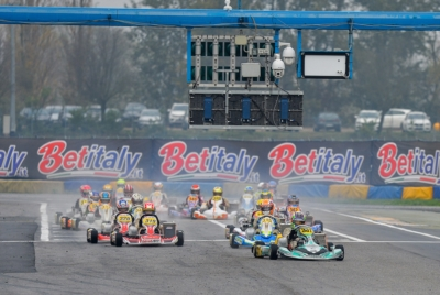 BIG FIGHTS IN CASTELLETTO (I) AT WSK FINAL CUP: BADOER (I – PAROLIN-TM 60 MINI), MINÌ (I – PAROLIN-TM OKJ), RENAUDIN (F – SODI-TM KZ2) AND TRAVISANUTTO (I – KR-PARILLA OK) QUICKEST IN QUALIFYING.