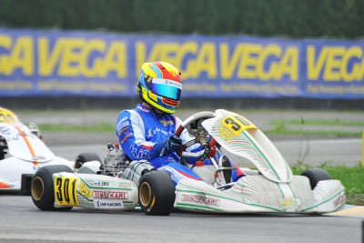 WSK FINAL CUP ROUND TWO IN CASTELLETTO (PV): BADOER (I – PAROLIN-TM 60 MINI), SMAL (RUS – TONY KART-VORTEX OKJ), RENAUDIN (F – SODI-TM KZ2) AND TRAVISANUTTO (I – KR-PARILLA OK) THE BEST SO FAR. Gallery