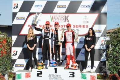 RED-HOT FINALS IN LONATO (BS) AT WSK SUPER MASTER SERIES. WINS TO RENAUDIN (F – SODI-TM KZ2), PATTERSON (GB – KR-IAME OK), DAY (GB – EXPRIT-VORTEX OKJ) AND AL DHAHERI (ARE – PAROLIN-TM 60 MINI).