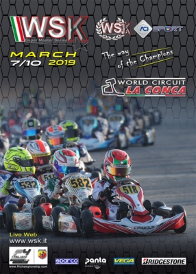 WSK SUPER MASTER SERIES STARTING ITS FINAL SPRINT IN LA CONCA FROM MARCH 7TH TO 10TH.  THE CIRCUIT OF MURO LECCESE (I) TO STAGE THE THIRD ROUND FOR CATEGORIES OK, OK JUNIOR AND 60 MINI