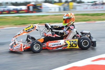 AIMING TO THE VICTORY AT THE WORLD CIRCUIT LA CONCA: PATTERSON (GB – KR-IAME OK), LINDBLAD (GB – EXPRIT-TM OKJ) AND IRFAN (GB – PAROLIN-TM 60 MINI) TO THE FORE TODAY IN QUALIFYING OF WSK SUPER MASTER SERIES. HEATS WILL CONTINUE TOMORROW. Gallery
