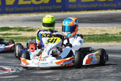 ALL SET FOR THE FINAL DAY IN MURO LECCESE AT THE THIRD ROUND OF WSK SUPER MASTER SERIES: VALTANEN (FIN – KOSMIC-IAME OK), LINDBLAD (GB – EXPRIT-TM OKJ) AND MACINTYRE (GB – PAROLIN-TM 60 MINI) ON TOP AFTER QUALIFYING HEATS. Gallery