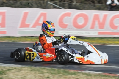 SWITCHES ON TOP OF WSK SUPER MASTER SERIES CLASSIFICATIONS. PATTERSON (GB – KR-IAME OK), EYCKMANS (B – PAROLIN-TM 60 MINI) AND ANTONELLI (I – KR-IAME OKJ) LEADING THE CHARTS AFTER THE ROUND IN MURO LECCESE (LE).