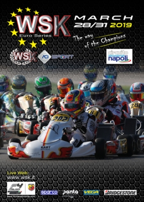 WSK EURO SERIES AT THE STARTING BLOCKS IN SARNO (I) FOR ITS FIRST OF FOUR 2019 EVENTS. THE SERIES WILL BE VALID AS ITALIAN OK AND OKJ CHAMPIONSHIP. DRIVERS ON TRACK FROM MARCH 28TH TO 31ST COMPETING FOR CATEGORIES KZ2, OK, OK JUNIOR AND 60 MINI.