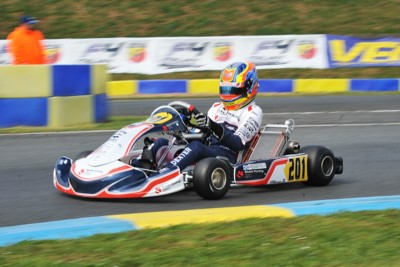 WSK EURO SERIES ROUND 2 QUALIFYING IN  ANGERVILLE (F): THE QUICKEST ARE PATTERSON (GB - KR-IAME OK), TEN BRINKE (NL – FA KART-VORTEX OKJ) AND MARENGHI (I – TONY KART-TM 60MINI). Gallery