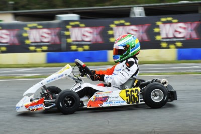 TRAVISANUTTO (I - KR-IAME OK), TEN BRINKE (NL – FA KART-VORTEX OKJ) AND BERGSTROM (I – PAROLIN-TM 60MINI) TO THE FORE IN QUALIFYING AT THE 2ND ROUND WSK EURO SERIES IN ANGERVILLE (F). Gallery