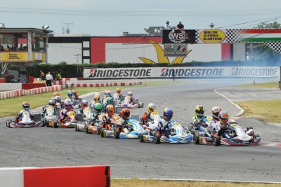 QUALIFYING HEATS OF WSK EURO SERIES IN LONATO (I): PUHAKKA (FIN – TONY KART-VORTEX KZ2), PATTERSON (GB – KR-IAME OK), WHARTON (AUS – FA KART OKJ) AND DEDECKER (B - PAROLIN-TM 60 MINI) ON TOP.