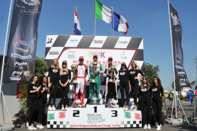 ARDIGÒ (I – TONY KART-VORTEX) IS AGAIN THE KING OF KZ2 AT WSK EURO SERIES IN LONATO (I). THE OTHER WINNERS, PATTERSON (GB – KR-IAME OK), LINDBLAD (GB – EXPRIT-TM OKJ) AND DEDECKER (B - PAROLIN-TM 60 MINI) WILL HAVE TO FACE THE CLOSING CHALLENGE IN THEIR C