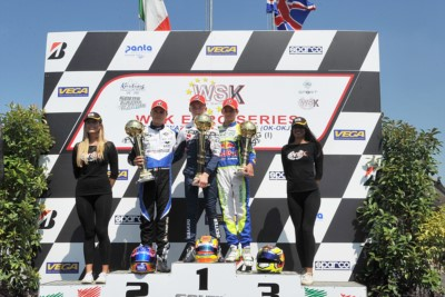 ARDIGÒ (I – TONY KART-VORTEX) IS AGAIN THE KING OF KZ2 AT WSK EURO SERIES IN LONATO (I). THE OTHER WINNERS, PATTERSON (GB – KR-IAME OK), LINDBLAD (GB – EXPRIT-TM OKJ) AND DEDECKER (B - PAROLIN-TM 60 MINI) WILL HAVE TO FACE THE CLOSING CHALLENGE IN THEIR C Gallery