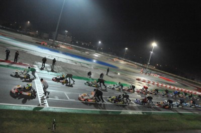 OVERNIGHT FINAL EVENT IN ADRIA FOR WSK EURO SERIES: THE PROVISIONAL LEADERS ARE TRAVISANUTTO (I – KR-IAME OK), ANTONELLI (I – KR-IAME OKJ) AND MACINTYRE (GB – PAROLIN-TM 60MINI) AMONG THE 180 ENTERED DRIVERS. FINISH LINE ON THE ACISPORT OK AND OKJ ITALIAN Gallery