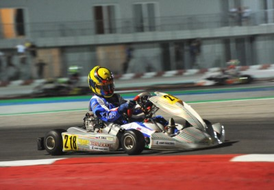 SMAL (RUS – TONY KART-VORTEX OK), ANTONELLI (I – KR-IAME OKJ) AND AL DHAHERI (ARE – PAROLIN-TM 60MINI) CAME TO THE FORE IN THE QUALIFYING HEATS OF WSK EURO SERIES IN ADRIA (I). Gallery