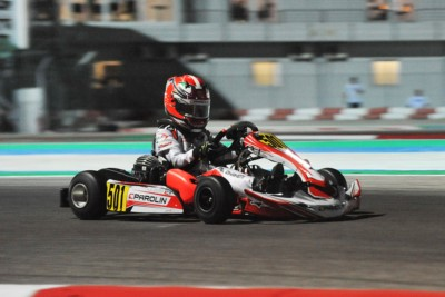CHEQUERED FLAG ON WSK EURO SERIES 2019 THAT CELEBRATED THE WINNERS TRAVISANUTTO (I – KR-IAME) IN OK, ANTONELLI (I – KR-IAME) IN OK JUNIOR AND AL DHAHERI (ARE – PAROLIN-TM) IN 60 MINI  IN ADRIA (I). Gallery