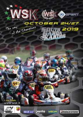 THE WSK OPEN CUP STARTS THE FINAL PART OF THE SEASON: FROM THE 24TH TO THE 27TH OF OCTOBER, 250 DRIVERS WILL RACE AT LONATO IN THE FIRST OF 2 ROUNDS IN THE KZ2, OK, OKJ AND 60 MINI CATEGORIES.