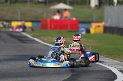 WSK OPEN CUP AT THE CHEQUERED FLAG TOMORROW AT THE 7LAGHI KART: THE BEST AFTER THE HEATS ARE TURNEY (GB – TONY KART-VORTEX OK), STENSHORNE (N – KR-IAME OKJ) AND TSOLOV (BG – PAROLIN-TM 60MINI). Gallery