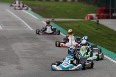 AT THE WSK FINAL CUP IN ADRIA, GOOD QUALIFYING FOR TRAVISANUTTO (I – TONY KART-VORTEX OK), LUYET (CH – CRG-TM KZ2), ANTONELLI (I – KR-IAME OKJ) AND MATVEEV (RUS – ENERGY-TM 60 MINI). Gallery