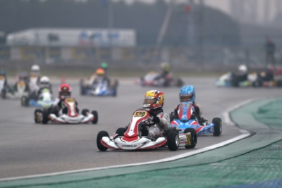 A SLIGHT RAIN COMPLICATES HEATS OF WSK CHAMPIONS CUP IN ADRIA
