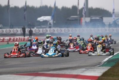 THE FIRST TITLES OF 2020 AWARDED IN ADRIA AT THE WSK CHAMPIONS CUP: BARNARD CHAMPION IN OK, SPINA IN OKJ, KHAVALKIN IN MINI Gallery