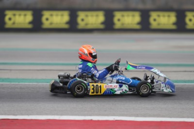 231 DRIVERS AT THE OPENER OF WSK SUPER MASTER SERIES IN ADRIA Gallery