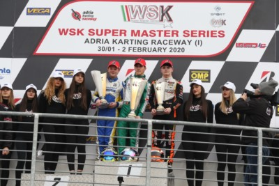 HILTBRAND (OK), SPINA (OKJ) AND SKULANOV (MINI)  TAKE THE WIN AT THE WSK SUPER MASTER SERIES IN ADRIA Gallery
