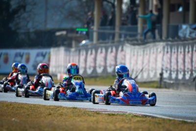 QUALIFYING HEATS INFLAME  WSK SUPER MASTER SERIES IN LONATO