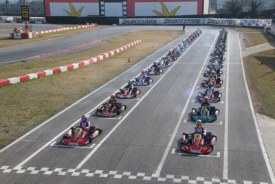 NEW LEADERS  IN WSK SUPER MASTER SERIES Gallery