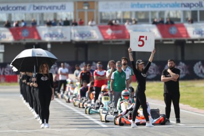 FREE PRACTICE OF WSK SUPER MASTER SERIES AND WSK EURO SERIES FROM THE WEDNESDAYS IN SARNO Gallery