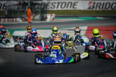THE PROTAGONISTS OF THE THIRD ROUND OF WSK SUPER MASTER SERIES IN ADRIA Gallery