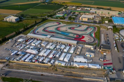 THE SPECTACLE CONTINUES IN ADRIA AS THE FOURTH ROUND OF WSK SUPER MASTER SERIES GETS UNDERWAY Gallery