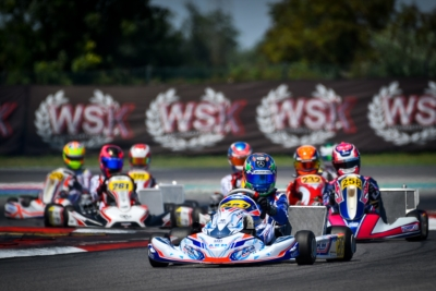 QUALIFYING PRACTICE AND HEATS OF THE FOURTH ROUND OF WSK SUPER MASTER SERIES IN ADRIA