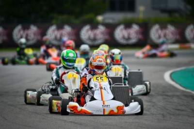 QUALIFYING OF WSK SUPER MASTER SERIES COMPLETE: THE GRAND FINALE ON SATURDAY AND SUNDAY Gallery