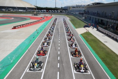 THE WINNERS OF THE THIRD ROUND OF WSK SUPER MASTER SERIES IN ADRIA Gallery