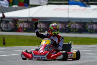 GOOD FINALS IN SARNO AT THE OPENER OF WSK EURO SERIES Gallery