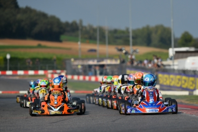 THE LONG CHALLENGE OF WSK EURO SERIES THAT IS VALID ALSO FOR THE ITALIAN ACI SPORT TITLES OF OK AND OK-JUNIOR HAS STARTED