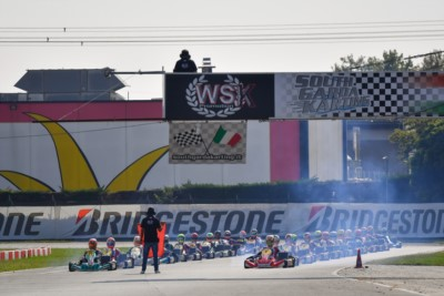 The long challenge of WSK Euro Series that is valid also for the Italian ACI Sport titles of OK and OK-Junior has started Gallery