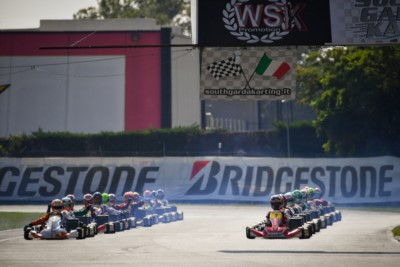 WSK Euro Series in Lonato: Prefinals in Live Streaming after the remaining heats on Saturday Gallery