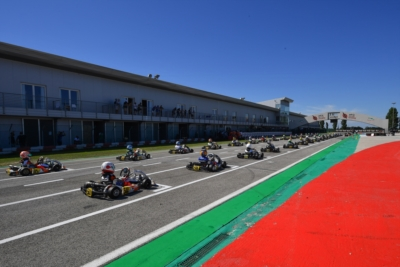 The WSK Open Cup kicks off in Adria Image
