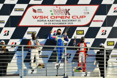 THE WSK 2020 SEASON REACHED ITS CONCLUSION IN ADRIA AWARDING THE OPEN CUP TITLES