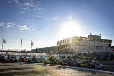 ENTRIES ACCEPTED TO THE WSK CHAMPIONS CUP IN ADRIA