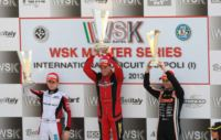 VERSTAPPEN (NL - CRG-TM KZ2), BOCCOLACCI (F – ENERGY-TM KF), LORANDI (I - TONY KART-PARILLA KF JUNIOR) AND MAINI (IND - TONY KART-LKE 60 MINI) LEAD THE CURRENT WSK MASTER SERIES STANDINGS.