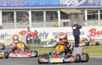 FINAL SPRINT IN THE WSK EURO SERIES FOR THE LEADERS VERSTAPPEN (NL – CRG-TM KZ1), ZANCHETTA (I - MARANELLO-TM KZ2),  BOCCOLACCI (F - ENERGY-TM KF) AND LORANDI (I - TONY KART-PARILLA KFJ).