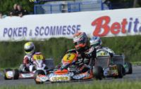VERSTAPPEN (NL – CRG-TM KZ1) AND NEGRO (I - DR-TM KZ2) WIN FINAL 1 OF THE WSK EURO SERIES IN GENK (B). LIVE STREAMING ON WWW.WSK.IT ON SUNDAY. THE WSK TV MAGAZINE ON RAISPORT ON FRIDAY 7TH JUNE. Gallery