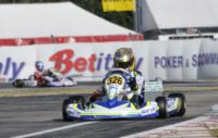 POLE POSITION AT THE WSK CHAMPIONS CUP IN LA CONCA FOR FEWTRELL (GB – FA KART-VORTEX), ILOTT (GB – ZANARDI-PARILLA) AND CAMPONESCHI (I - TONY KART-VORTEX). ABRUSCI (I - TONY KART-LKE) IS THE FASTEST  IN THE FREE PRACTICE 60 MINI.