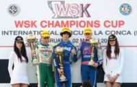 THE SECOND AND LAST ROUND OF THE WSK CHAMPIONS CUP ON SUNDAY 9TH MARCH AT LA CONCA.