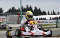 TRAGUARDO IN VISTA ALLA WSK CHAMPIONS CUP, CON LE FINALI A MURO LECCESE DOMENICA 9 MARZO IN LIVE WEB DA WSK.IT. OGGI POLE POSITION PER JANKER (D – ZANARDI-PARILLA KF), HANLEY (GB – ART GP-TM KZ2) E TICKTUM (GB – ZANARDI-PARILLA KF2). Gallery