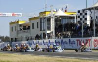THE WSK CHAMPIONS CUP IN MURO LECCESE POLE SITTERS:  ARDIGÒ (I – TONY-VORTEX) IN KZ2, MAZEPIN (RUS – TONY-VORTEX) AND NIELSEN (DK – KOSMIC-VORTEX) IN KF, SERRAVALLE (CDN – TONY-LKE)