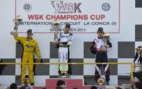 IN THE FINAL WSK CHAMPIONS CUP ROUND IN MURO LECCESE THE VICTORY GOES TO PEX (NL – CRG-TM KZ2), BASZ (PL – TONY-VORTEX KF), FEWTRELL (GB – FA KART-VORTEX KF JUNIOR) AND GAFAR (MAL – HERO-LKE 60MINI).