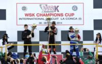 IN THE FINAL WSK CHAMPIONS CUP ROUND IN MURO LECCESE THE VICTORY GOES TO PEX (NL – CRG-TM KZ2), BASZ (PL – TONY-VORTEX KF), FEWTRELL (GB – FA KART-VORTEX KF JUNIOR) AND GAFAR (MAL – HERO-LKE 60MINI). Gallery
