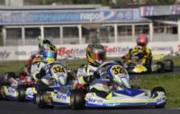 THE BEST PERFORMANCES IN THE WSK SUPER MASTER SERIES IN SARNO (ITALY) ARE ACHIEVED BY CAMPONESCHI (I - TONY KART-VORTEX KZ2), NIELSEN (DK – KOSMIC-VORTEX KF), FUSCO (I – LENZO-LKE 60 MINI), FEWTRELL AND AHMED (GB – FA -VORTEX KFJ). Gallery