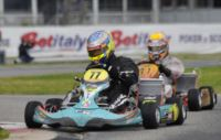 THE LEADERS OF THE WSK SUPER MASTER SERIES STANDINGS ARE LAMMERS (NL – FK-PARILLA KZ2), BASZ (PL – TONY-VORTEX KF), TICKTUM (GB – ZANARDI-PARILLA KFJ) AND SZYSZKO (PL – TONY-LKE 60MINI).