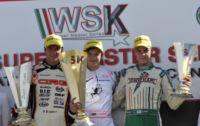 IN MURO LECCESE (I) THE WINNERS OF THE FINALS AND OF THE WSK SUPER MASTER SERIES ARE ARDIGÒ (TONY -VORTEX KZ2), ILOTT (ZANARDI-PARILLA KF), AHMED (FA-VORTEX FJ) AND  ABRUSCI (TONY-LKE 60 MINI).